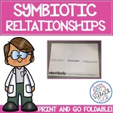 Symbiotic Relationships Foldable