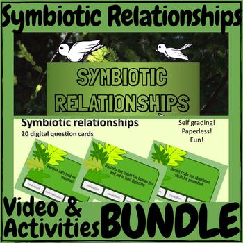 Symbiotic Relationships Video & Activities Bundle