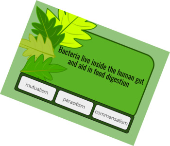Symbiotic relationships - DIGITAL TASK CARDS