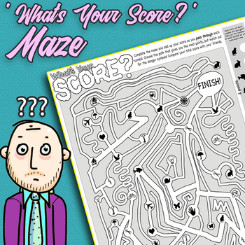 Symbol Maze - What's Your Score?