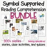 Symbol Supported Reading Comprehension BUNDLE for special