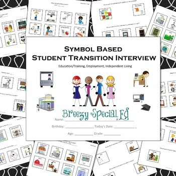 photo about Printable Transition Assessments named Brand Supported Changeover Job interview / Questionnaire for One of a kind Instruction