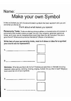 Symbol Worksheets