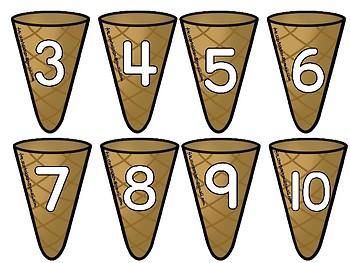 Symbol og mengde, 1-10.  NYNORSK
