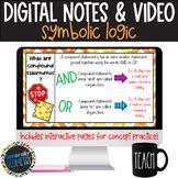 Symbolic Logic Digital Notes; Distance Learning, Google Drive
