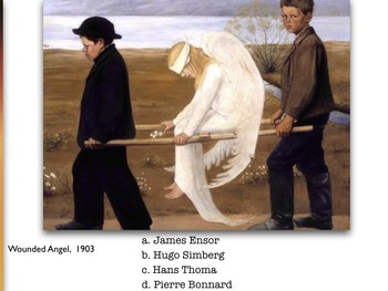 Symbolism ~ Art ~ Exam ~ Art History ~ 100 M/C Visual Qs ~ Symbol ~ Test