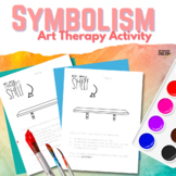 Symbolism Art Therapy Activity for ELA (FREE)
