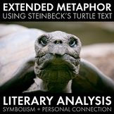 Extended Metaphor, Symbolism, Literary Analysis, John Steinbeck Text, CCSS