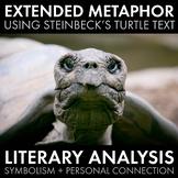 Extended Metaphor, Symbolism, Literary Analysis, John Steinbeck Text, CCSS