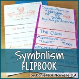 Symbolism Flipbook and PowerPoint - Masque of the Red Death by Edgar Allan Poe