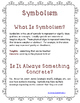 Symbolism Handout For Upper Elementary and Middle School Students