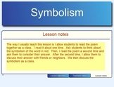 Symbolism Introduction and Poetry