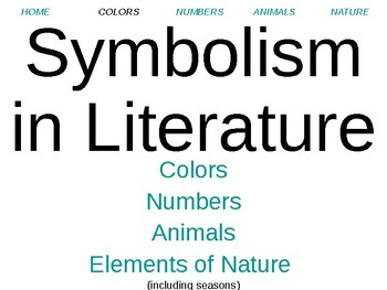 Symbolism: Introduction to