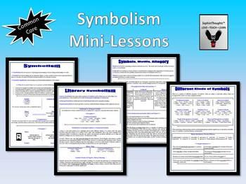 Symbolism Literary Symbols Motifs Common Core