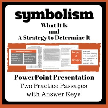 Symbolism PowerPoint and Practice