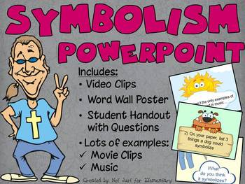 Symbolism Powerpoint: Videos, Poster, & Handout