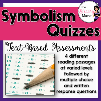 Symbolism Quizzes: Text-Based Assessments with Multiple Choice Questions