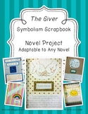 Symbolism Scrapbook! Novel Project for THE GIVER or ANY Class Novel