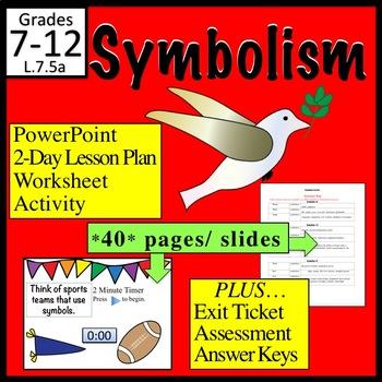 Symbolism Symbols In Literature By Kim Kroll Teachers Pay Teachers