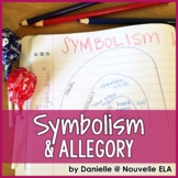 Symbolism and Allegory - Introduction & PowerPoint (paper,