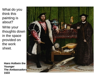 Symbolism and art history Hans Holbein The Younger's The Ambassadors