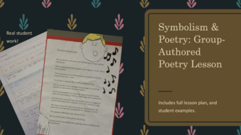 Symbolism in Poems: Group-Authored Poetry Lesson
