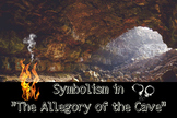 """Symbolism in """"The Allegory of the Cave"""" with Prezi"""