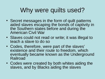 Symbolism in Underground Railroad Quilts