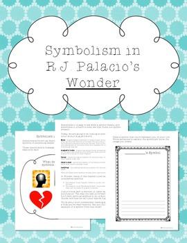 Symbolism in Wonder by RJ Palacio