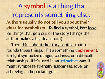 Symbolism in literature - Introduction and explanation