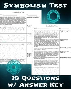 Symbolism test with Answer Key