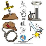 Symbols : Legend, Myth, Tall Tale, Fairy Tale for distance