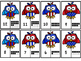 Symbols Of America A-Z letter Matching  and  1-20 Number Matching Puzzles