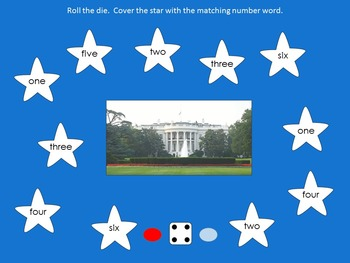 Symbols Of America Roll And Cover SMART Board