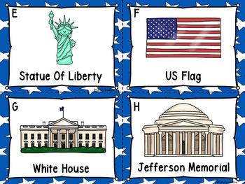 Symbols Of America Write The Room