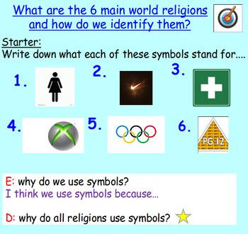 Symbols: World Religions