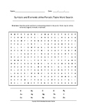 Symbols and Elements of the Periodic Table Word Search (Gr