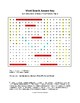 Symbols and Elements of the Periodic Table Word Search with Key (Grades 7-8)