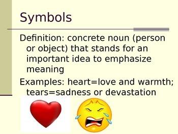 Symbols and Figurative Language Notes