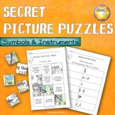 Symbols and Instrument Puzzles Distance Learning