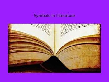 Symbols in Literature PowerPoint