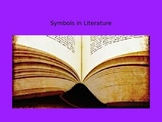 Symbols in Literature PowerPoint