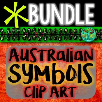 Symbols & landmarks of Australia BUNDLE
