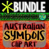 Australian Clip Art {Symbols & landmarks BUNDLE}