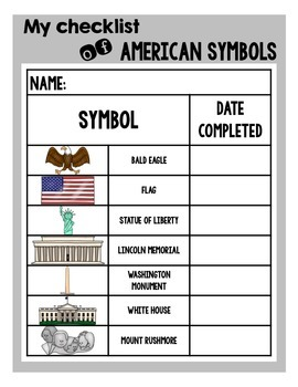 Symbols of America, Made Fun! With Color Coded Evidence!