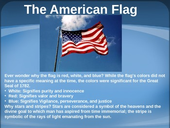 Symbols of America PowerPoint