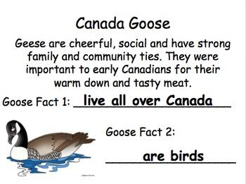 Symbols of Canada Lesson Plan