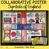 Symbols of England, a collaborative poster
