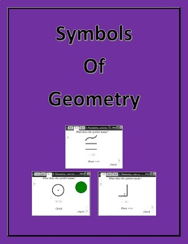 Symbols of Geometry (Quiz and Workstations)