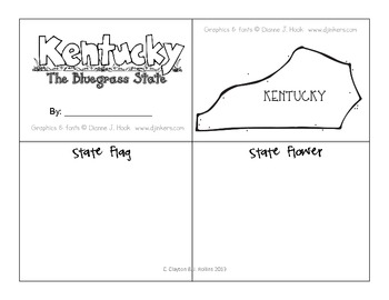 """Symbols of Kentucky (for CCSS Unit 5, """"American Contributions"""")"""